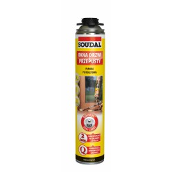 Pianka pistoletowa YELLOW 750ml. SOUDAL