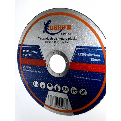 Tarcza metalowa 230x2,0
